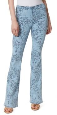 Jessica Simpson Animal-Print Pull-On Jeans