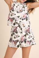 Umgee USA Floral Print Romper