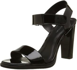 Calvin Klein Womens Dylan Sandals Black Size: 5
