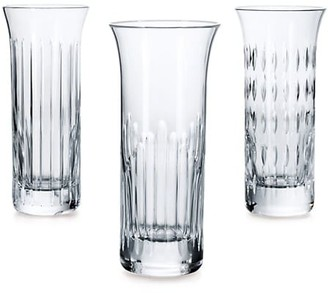 Baccarat Flora 3-Piece Bud Vase Set