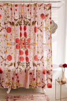 Urban Outfitters Daniella Floral Shower Curtain