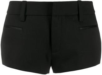 Saint Laurent Tailored Tuxedo Shorts