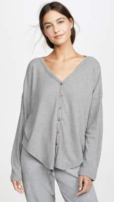 PJ Salvage Button Up Sleep Shirt