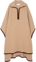 Chloé Wool And Cashmere-blend Cape - Camel