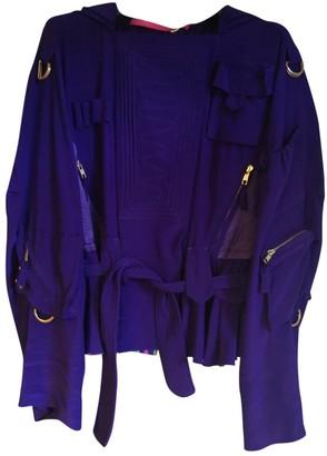 Ungaro Purple Silk Jackets