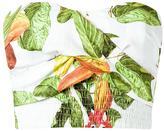Isolda floral print cropped top