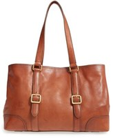 Frye Claude Leather Tote - Grey