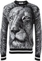 MSGM lion sweatshirt - men - Cotton - M