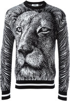 MSGM lion sweatshirt