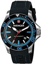 Wenger Men's 0641.104 Sea Force Analog Swiss Quartz Black Watch