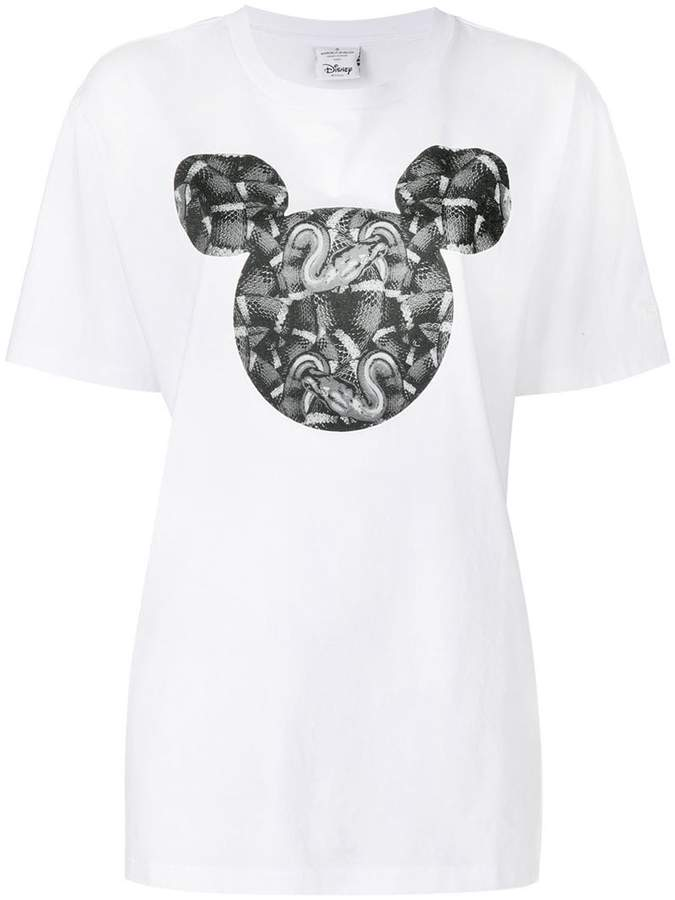 Marcelo Burlon County of Milan snake print T-shirt