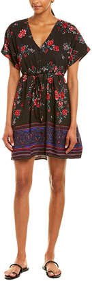 Band of Gypsies Floral A-Line Dress