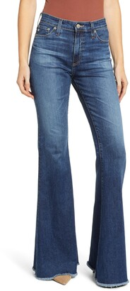 AG Jeans Iva High Waist Bell Bottom Jeans