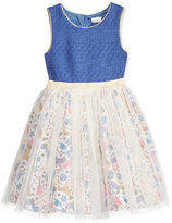 Sweet Heart Rose Crocheted Western Tutu Dress, Toddler & Little Girls (2T-6X)