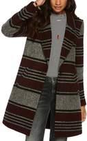 Scotch & Soda Striped Coat