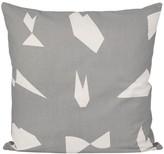 ferm LIVING Cut Cushion - Blue - 50x50 cm