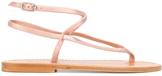 K. Jacques Strappy Low Heel Sandals