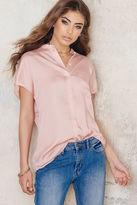 Filippa K Tencel Cap Sleeve Shirt