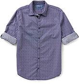 Calvin Klein Jeans Long-Sleeve Scattered Diamond Print Shirt