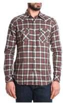 Eleventy Men's Multicolor Cotton Shirt.