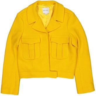 Mira Mikati Yellow Wool Jacket for Women