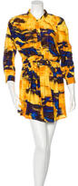 Thakoon Silk Abstract Print Dress