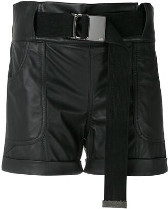 Andrea Bogosian Salma belted shorts