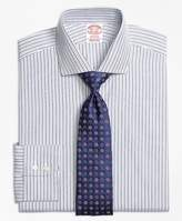 Brooks Brothers Madison Fit Alternating Track Stripe Dress Shirt