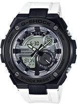 G-Shock G-Steel Stainless Steel and Resin Strap Watch GST210B7A