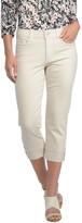 NYDJ &Dayla& Colored Wide Cuff Capri Jeans