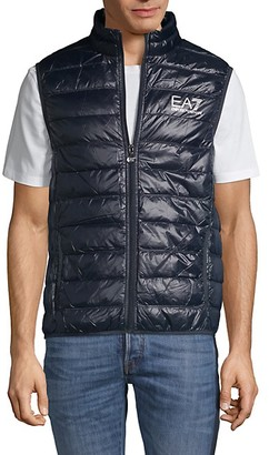 Ea7 Emporio Armani Down-Filled Quilted Vest