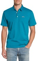 Patagonia Men's 'Trout Fitz Roy' Organic Cotton Polo
