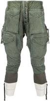 Greg Lauren - cargo pocket trousers - men - Cotton - 2