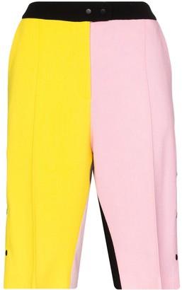 Brøgger Gurli colour block shorts