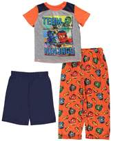"Lego Ninjago Little Boys' ""Team Ninjago"" 3-Piece Pajamas"