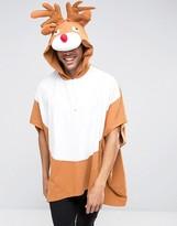 Asos Holidays Reindeer Poncho