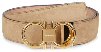 Salvatore Ferragamo Pop Capsule Suede Belt