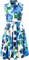 Samantha Sung Claire Geranium Dress