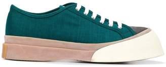 Marni wedge toe sneakers