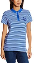 Tommy Hilfiger Women's Mara Striped Short Sleeve Polo Shirt