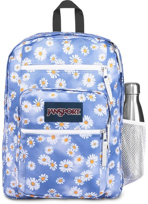 JanSport Daisy Cloud Print Big Student Backpack