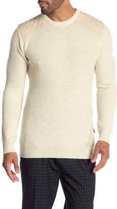 Scotch & Soda Rib Knit Structured Pullover Sweater