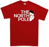 Customised Perfection The North Pole Christmas Xmas Santa Face T Shirt 2XL