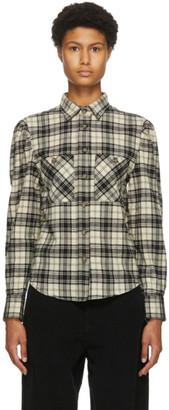 Etoile Isabel Marant Black and White Check Falco Shirt