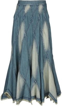 Alice + Olivia Denim skirts