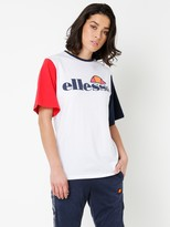 Ellesse Camillia Contast Sleeve T-Shirt