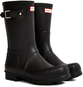 Hunter Short Rain Boot Black