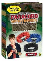 Creativity For Kids Myo Paracord Wristbands