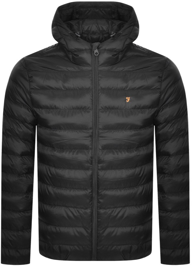 STRICKLAND COAT Light jacket black