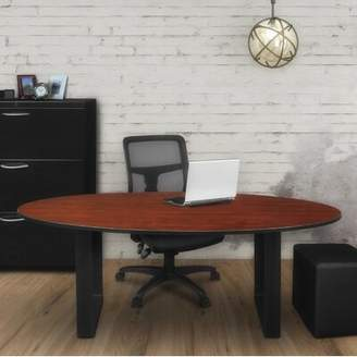Bronx Ivy Aldiana Oval Conference Table Ivy